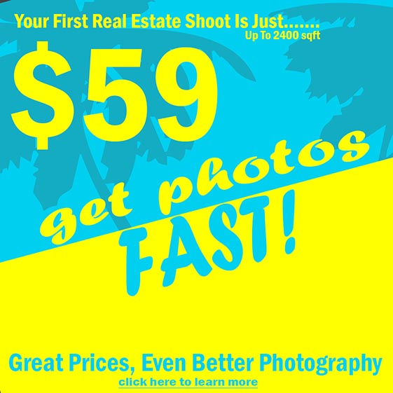 Real Estate Photography Services & Pricing For   | $59 First Shoot
